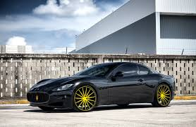 maserati granturismo black customized maserati granturismo exclusive motoring miami fl