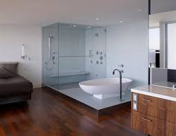 open bathroom designs apartments awesome bedroom with open bathroom ideas with white