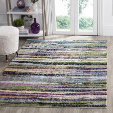 multi colored shag rug fiesta shag collection safavieh com