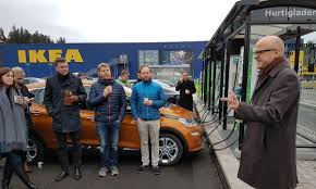 ikea locations all ikea locations in norway to feature ev fast charging stations