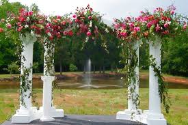 wedding arch rental wedding colonnade arch rental ceder rapids iowa city ia