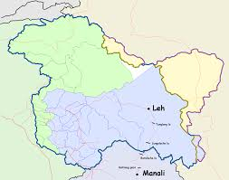 Highway Map File Leh Manali Highway Map Png Wikimedia Commons