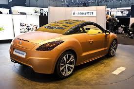 peugeot convertible rcz photos peugeot rcz cabrio magna steyr interieur exterieur