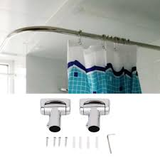 compare prices on curved shower curtains rods online shopping buy