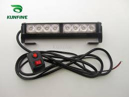 car led strobe light bar car warning light car flashlight led