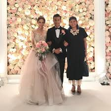 bride wars wedding dress yoyo tang u0027s wedding dress popsugar fashion