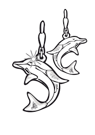 Jewelry Coloring Pages Getcoloringpages Com Ear Coloring Page