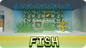 minecraft aquarium fish tank tutorial decoration ideas