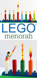 menorahs for kids how to make a simple lego menorah hanukkah and other