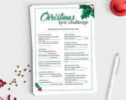free printable christmas song lyric games fun adult birthday game how well do you know the birthday