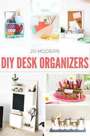 Diy Office Desk Accessories by How To Make A Diy Desk Organizer Mod Podge Rocks