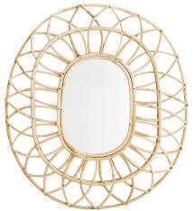 couverts en bambou miroir en bambou madam stoltz