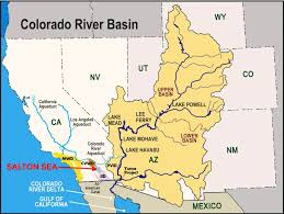 Map Of Yuma Arizona by How The Colorado River U0027s Future Depends On The Salton Sea U2014 Water