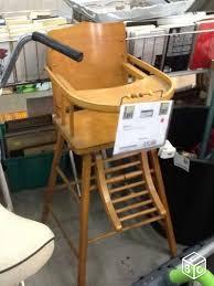 chaise haute bebe bois chaise haute bebe bois n 196 à vendre à la flèche en sarthe