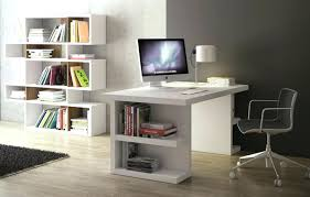 computer desk with shelves white white office storage office table with storage office table with