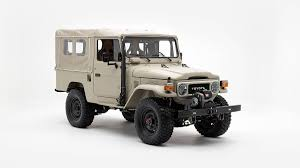 land cruiser toyota classic toyota fj40 land cruiser updated for the modern age debuts