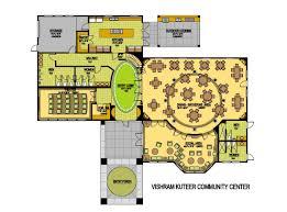 clubhouse floor plans vishram kuteer subdivision amenity plan