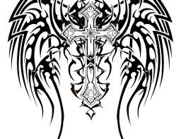 tribal grim reaper stencil photos pictures and