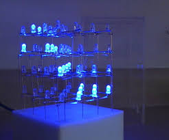 led cubes cube 4x4x4 with max 7219