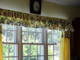 captivating country kitchen curtains and valances top interior