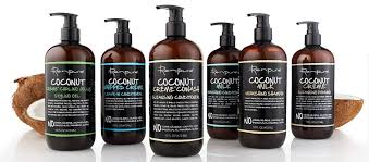 holiday gift giving renpure black label coconut hair product