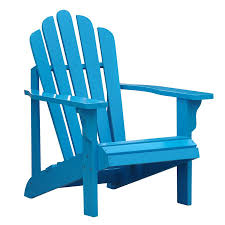 Turquoise Patio Furniture by Shop Shine Company Westport Turquoise Cedar Patio Adirondack Chair