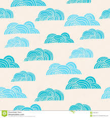 seamless background with clouds stock vector illustration of