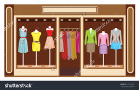 shop clipart clothing store pencil and in color shop clipart