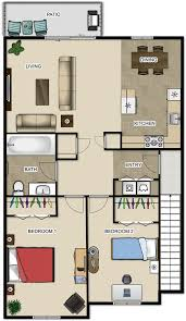 Two Bedroom Apartments Floor Plans River View Apartments Pricing U0026 Floor Plans