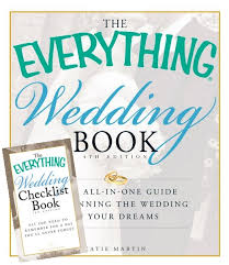 wedding checklist book giveaway win 2 books in the everything wedding series