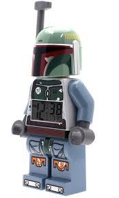 best light up alarm clock star wars boba fett kids minifigure light up alarm clock best