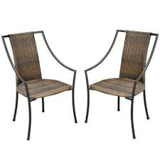 Lounge Armchair Black Outdoor Lounge Chairs Patio Chairs The Home Depot