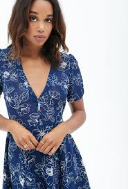 fit and flare dress forever 21 forever 21 floral fit flare dress you ve been added to the