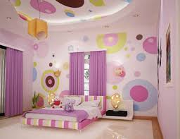 bedroom dazzling cool painting polka dot interior wall design