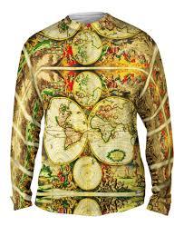World Map Jacket by Hendrik Hondius