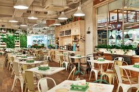 obed bufet self service restaurant spb russia design by g sign