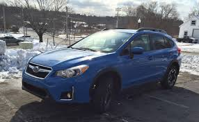blue subaru crosstrek review 2016 subaru crosstrek 2 0i premium your frugal crossover