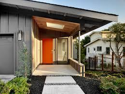 Mid Century Outdoor Lighting by Trestle Glen Modern By Knock Architecture Design Batten