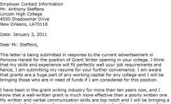 sample grant writer cover letter examples of resumes grant writer