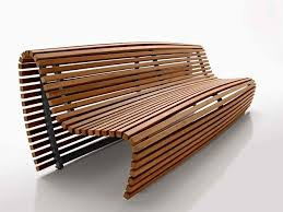 Diy Timber Bench Seat Plans by Original Design Bench Teak With Backrest By Naoto Fukasawa