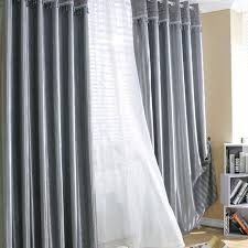Ikea Striped Curtains Dark Grey Curtains Linen Curtains Aurora Home Silver Grommet Top