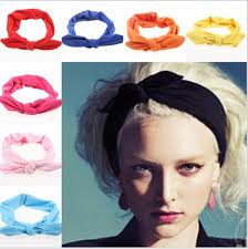 top knot headband aliexpress buy 2015 korean boutique rabbit bunny ears top