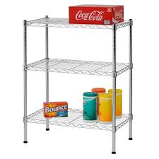 steel storage shelves amazon com sandusky ws241430 wire shelving 24