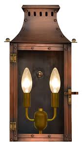 Arts And Crafts Style Outdoor Lighting by Coppersmith Gas And Electric Lanterns
