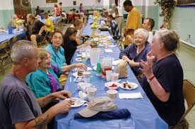 Soup Kitchen Volunteer Nj by Many Help Give Weekly Meals At Cluster Soup Kitchen Program In