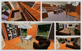 middle class home interior design mod the sims the chocolate designs a warm modern 2 bedroom