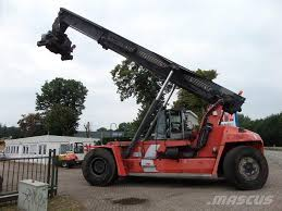 used kalmar drf450 65a5x reach stackers year 2008 for sale