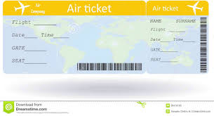 airline ticket template word example mughals