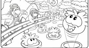 coloring pages of club penguin club penguin halloween coloring pages archives cool coloring
