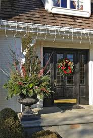 Christmas Decorating Ideas Outdoor Planters Pictures 96 Best Winter Containers Images On Pinterest Christmas Urns